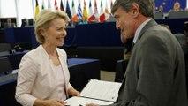 Ursula von der Leyen: First woman to hold EU's top job