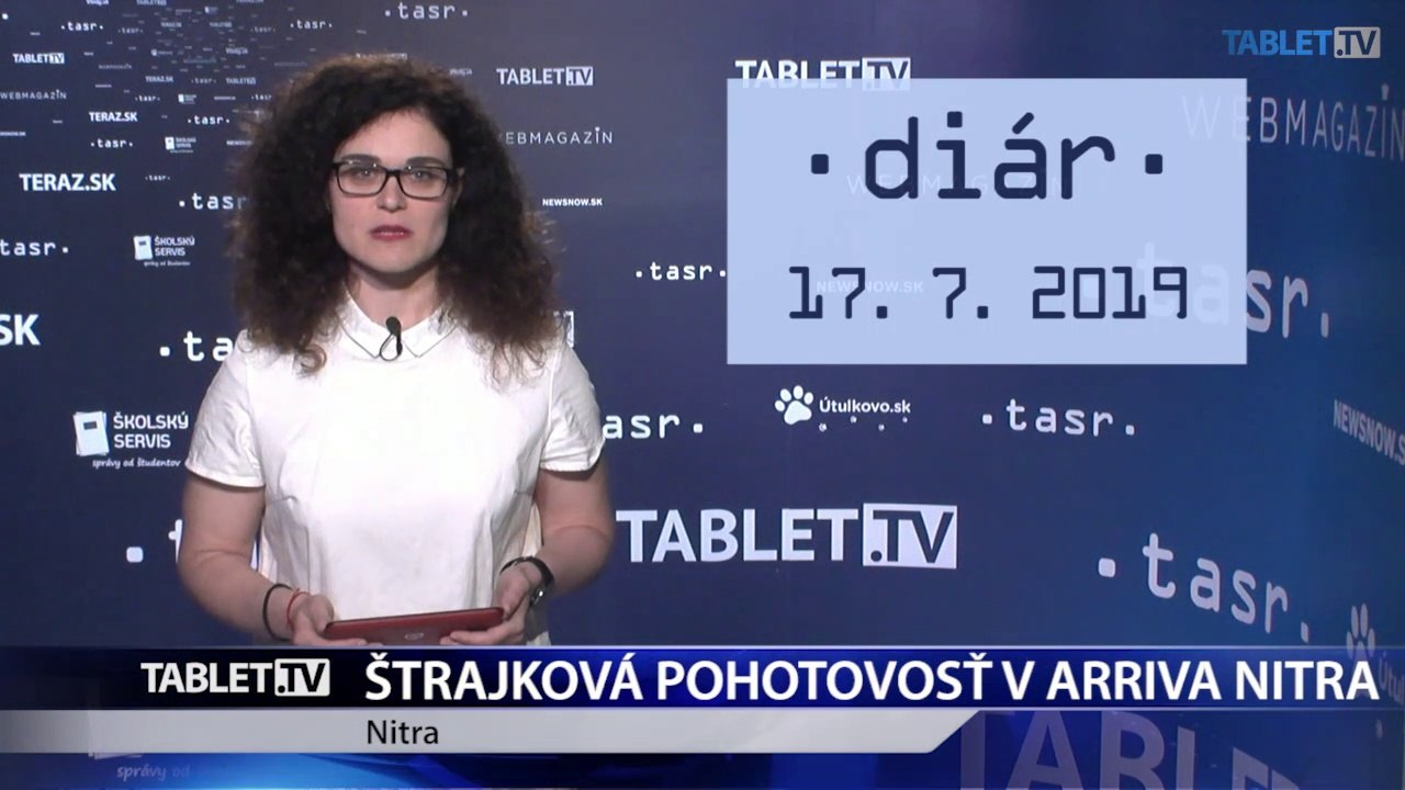 DIÁR: Štrajková pohotovosť v Arriva Nitra