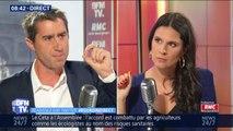 """François Ruffin: """"On a une nouvelle ministre qui n'a jamais prononcé un discours sur l'écologie"""""""