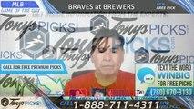 Atlanta Braves vs Milwaukee Brewers 7/17/2019 Picks Predictions Previews