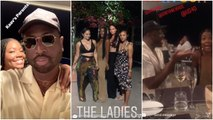 Dwyane Wade & his crew struggle to be Instagram husbands as the wives look for perfect shots