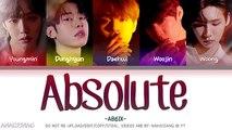 AB6IX (에이비식스) – Absolute (Color Coded Lyrics Eng-Rom-Han-가사)