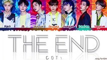 GOT7 (갓세븐) - 'THE END' Lyrics [Color Coded_Han_Rom_Eng]