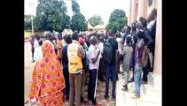 Manque d'électricité à Kankan : la manifestation des jeunes contre EDG