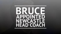 Bruce appointed Newcastle head coach