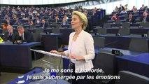 Ursula Von der Leyen élue présidente de la Commission européenne