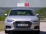 Audi A4 (2019) : 1er contact en vidéo