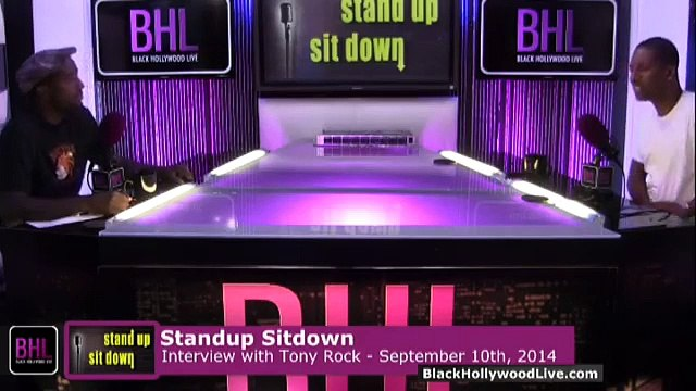 Stand-Up, Sit-Down w  Tony Rock for the Week of September 10th, 2014   Black Hollywood Live P1