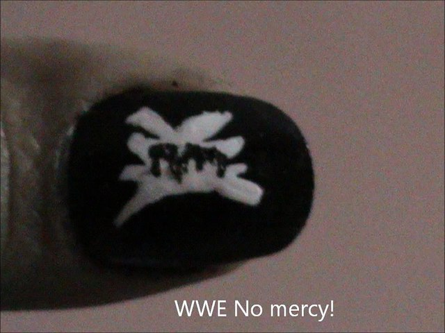WWE - NO MERCY Nail designs