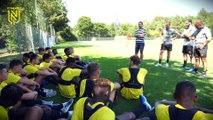 Académie : les U19 ont repris l'entraînement !