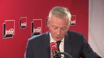 """Bruno Le Maire : """"Le CETA est plus efficace contre le réchauffement climatique que le 'chacun pour soi'"""""""