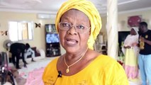 Visite de  Madame Ndoye  Gayssiri chez Serigne Abdou Karime