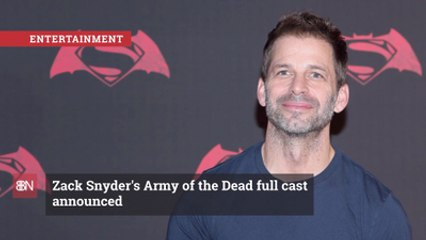 The Cast Of  'Army of the Dead' Revealed