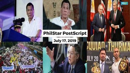 Postscript July 17, 2019