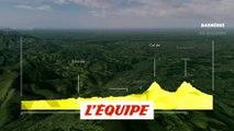 Le profil de la 12e étape en vidéo - Cyclisme - Tour de France