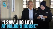EVENING 5: Jho Low was at Najib's house says witness