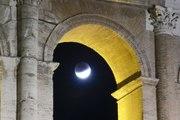 Las mejores imágenes del eclipse parcial de Luna (julio de 2019)