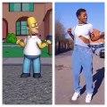 Admirez le Shaku-Shaku d'Homer Simpson. Trop fort !