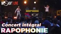RAPOPHONIE : le concert avec Arma Jackson, Bakari, Chilla, Le 77 et Sarahmée !