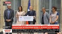 """François de Rugy avec sa femme à ses côtés: """"Une vie d'engagements ne se résume pas en quelques images."""""""