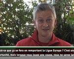"""Man United - Solskjaer : """"Nous devons viser la finale de la Ligue Europa"""""""