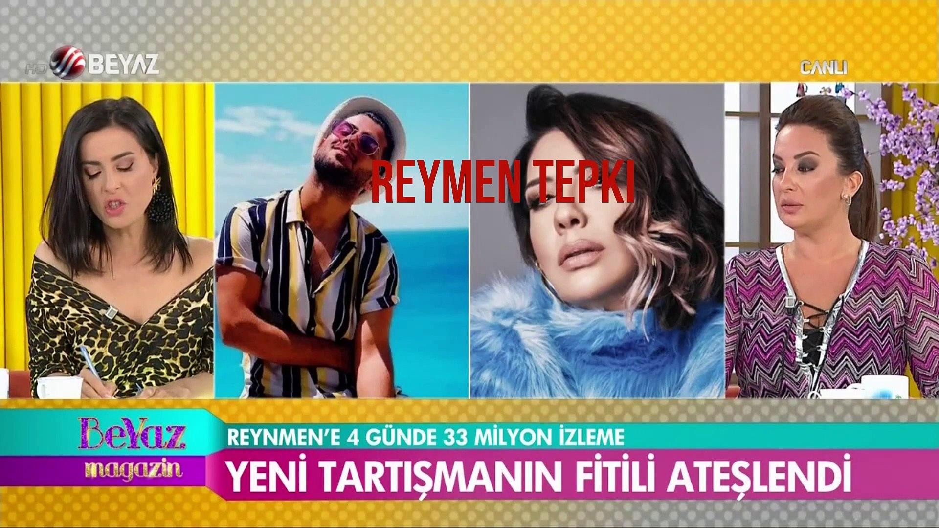 BEYAZ TV - Reynmen'e rekor tepkisi! Aleyna Tilki, Demet Aklalın ve Işın Karaca'dan tepki
