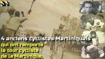 4 anciens cycliste Martiniquais qui ont remporté le tour cycliste de la Martinique.