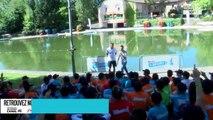Jo-Wilfried Tsonga : journée engagée avec les enfants du Village Kinder (exclu vidéo)