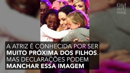 """Angelina Jolie, """"uma mãe ruim"""" segundo a ex-babá dos Jolie-Pitt"""