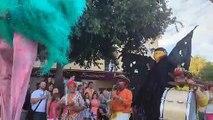 Le grand retour des Grimaldines avec les artistes de rue et Kimberose