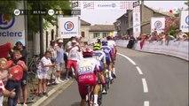 Tour de France 2019 - Anthony Perez passe en tête de la dernière côte du jour