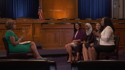 "Here's how AOC, Ilhan Omar, Ayanna Pressley & Rashida Tlaib became known as ""The Squad"""