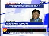 Sandiganbayan orders arrest of Arroyos