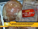 DTI sets suggested prices for 'noche buena' products
