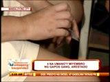 4 'Gapos Gang' members nabbed in Mandaluyong