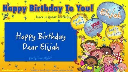 Jump Singers - Happy Birthday Dear Elijah (For Partytime)