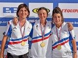 Championnat de France Triplettes Féminines à Saverdun (09)