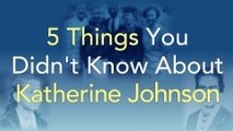 5 Things You Didn't Know About Katherine Johnson | Reaching for the Moon