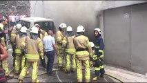 Fatih'te yangın