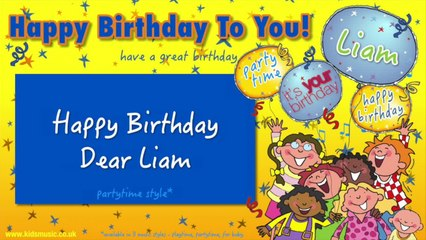 Jump Singers - Happy Birthday Dear Liam (For Partytime)