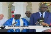 ORTM/Le Président de la République reçoit le Secrétaire du G5 Sahel, les présidents des chambres de commerce du G5 Sahel et le Fondateur du Mouridisme