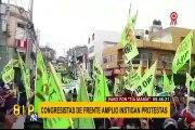 Tía María: congresistas de Frente Amplio cuestionados por instigar protestas