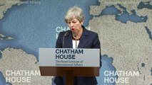 Theresa May praises those involved in Abedi arrest