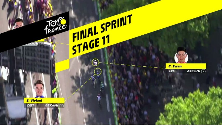 Sprint Final / Final Sprint - Étape 11 / Stage 11 - Tour de France 2019