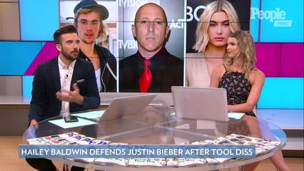 Hailey Baldwin Calls Tool Frontman 'Childish' After Justin Bieber Diss