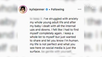 Kylie Jenner Gets Candid About Anxiety and 'Growing Up in the Light': 'I'm Human'