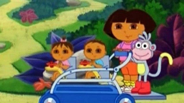 Dora the Explorer Season 4 Episode 9 - Super Babies