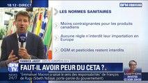 """Yannick Jadot sur le CETA: """"L'enjeu est de protéger notre modèle agricole"""""""