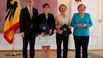 Annegret Kramp-Karrenbauer succède à Ursula von der Leyen au ministère de la Défense