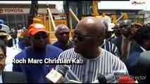 Boulevard des Tansoba de Ouagadougou  Le président Roch Kaboré lance officiellement les travaux de réhabilitation